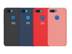 قاب محافظ سیلیکونی شیائومی Silicone Cover Xiaomi Mi 8 Lite