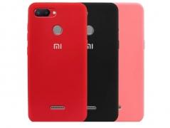 قاب محافظ سیلیکونی شیائومی Silicone Cover Xiaomi Redmi 6/6A