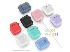 کاور ژله ای سیلیکونی قلاب دار ایرپاد AHA Style PT06 Silicone jelly Case Airpods 2/1