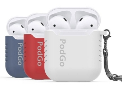 کاور سیلیکونی ایرپاد AhaStyle PodGo Silicone Keychain Case for Apple AirPods