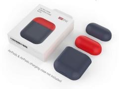 کاور سیلیکونی دو درب ایرپاد AHAStyle PT63 Ultra Thin Airpods Case