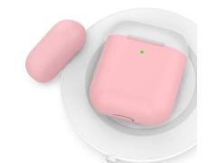 کاور سیلیکونی دو درب ایرپاد AHAStyle Ultra Thin Airpods Case