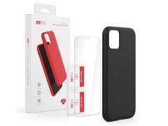 قاب سیلیکونی و محافظ صفحه آیفون AHAStyle Liquid Silicone Case iPhone 11 Pro Max