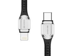 کابل شارژ سریع تایپ سی به لایتنینگ ایکس دوریا X-Doria Defense Feng PD USB Type-C to Lightning Cable 1.2cm