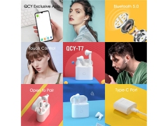 هندزفری بلوتوث کیو سی وای QCY T7 TWS Smart Earbuds