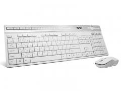 موس و کیبورد حروف فارسی تسکو TSCO TKM 7106W Keyboard