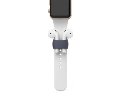 نگهدارنده ایرپاد روی اپل واچ Ahastyle PT75 AirPods Silicone Holder