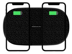 شارژر بی سیم دوتایی نیلکین Nillkin MC030 Double Shadows Fast Wireless Charging Pad