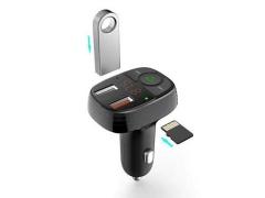 شارژر فندکی با قابلیت پخش موسیقی و تماس دویا Devia EA133 Smart FM Transmission Car Charger