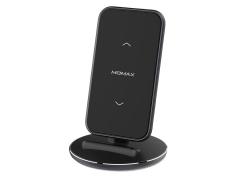 استند شارژر وایرلس مومکس Momax QDock5 UD9 Fast Wireless Charger