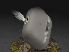 کاور محافظ سیلیکونی ایرپاد پرو بیسوس Baseus Jelly Lanyard Case AirPods pro