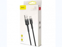 کابل شارژ و انتقال داده میکرو یو اس بی بیسوس Baseus Cafule Micro USB Cable 2m