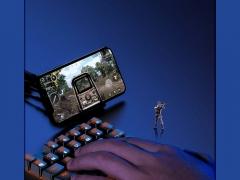 کیبورد گیمینگ بیسوس Baseus GAMO One-Handed Gaming Keyboard GK01 بسیار ارگونومیک