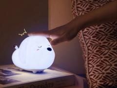 خرید چراغ خواب عروسکی بیسوس مدل Baseus Cute Series Doggie Silicone Night Light