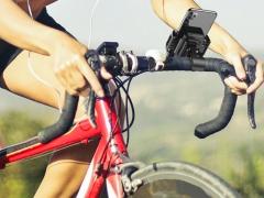 پایه نگهدارنده گوشی برای دوچرخه و موتورسیکلت راک  ROCK Black Universal Bike Phone Mount نگهدارنده ایمن در جاده های ناهموار