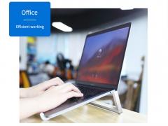 استند قابل حمل لپ تاپ راک ROCK Portable Laptop Stand دارای کیفیت ساخت بالا