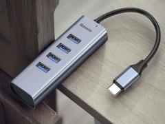 هاب آداپتور تایپ سی بیسوس Baseus CAHUB-Q0G Enjoy HUB Adapter