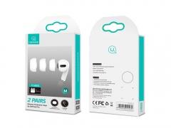 سری سیلیکونی ایرپاد پرو یوسامز Usams 2 Pairs Silicone Protective Caps for AirPods Pro