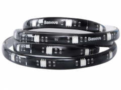 نوار ال ای دی چند رنگ بیسوس BASEUS 1.5M Cool Black USB Colorful Electronic