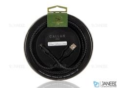 کابل شارژ و انتقال داده لایتنینگ پولو Polo Callan Kevlar Lightning Cable 1.5m