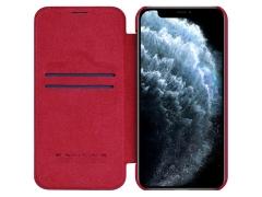 کیف چرمی نیلکین آیفون Nillkin Qin Leather Case iPhone 12 Pro Max