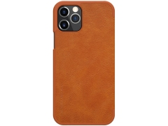 کیف چرمی نیلکین آیفون Nillkin Qin Leather Case iPhone 12 Pro / iPhone 12
