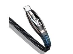 کابل تایپ سی هوشمند سریع یوسامز Usams U36 Type-C Cable 1.2m