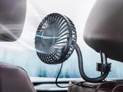 پنکه قابل حمل مخصوص خودرو بیسوس   BASEUS Departure Car Vehicle Cooling Fan (Seat Type) مخصوص سرنشین های عقب
