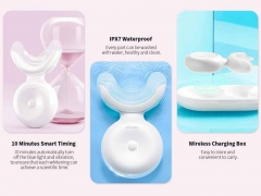 سفید کننده دندان شیائومی Xiaomi Dr.Bei W7 Ultrasonic Teeth Whitener White دارای گواهینامه ضد آب