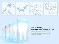 سفید کننده دندان شیائومی Xiaomi Dr.Bei W7 Ultrasonic Teeth Whitener White با قدرت سفید کنندگی در 10 دقیقه