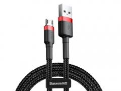 کابل شارژ سه متری میکرو یو اس بی بیسوس Baseus Cafule Cable 3M micro USB