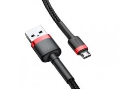 کابل شارژ و انتقال داده میکرو یو اس بی بیسوس Baseus Cafule Micro USB Cable 3m