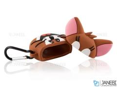 کاور محافظ سیلیکونی ایرپاد طرح جری Jerry Silicone Case Apple Airpods