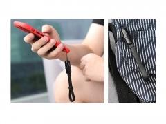 کابل شارژ و انتقال داده کوتاه لایتنینگ راک Rock S3 Lightning Cable 14cm