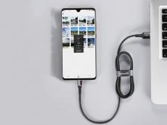 کابل شارژ سریع و انتقال داده میکرو یو اس بی بیسوس Baseus Halo Micro USB Cable 25cm