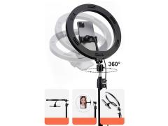 سه پایه ال ای دی دار موبایل راک Rock RPH0947 Selfie Ring Light