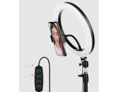سه پایه رینگ لایت موبایل راک Rock RPH0947 Selfie Ring Light