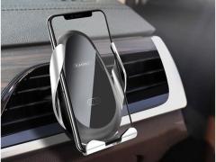 پایه نگهدارنده و شارژر وایرلس گوشی ارلدام Earldom ET-WC10 3in1 Wireless Car Holder