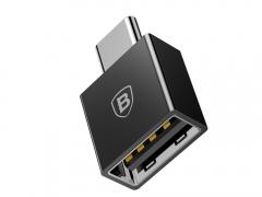 قیمت مبدل تایپ سی به یو اس بی بیسوس مدل Baseus Exquisite Type-C Male to USB Female OTG Adapter Converter