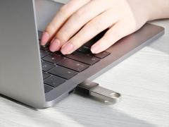مبدل تایپ سی به یو اس بی بیسوس مدل Baseus Exquisite Type-C Male to USB Female OTG Adapter Converter دارای کیفیت ساخت بالا