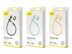 کابل شارژ و انتقال داده تایپ سی بیسوس مدل دستبند Baseus Bracelet Type-C Cable 22cm