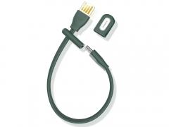 کابل شارژ و انتقال داده تایپ سی 22 سانتی متری بیسوس مدل دستبند Baseus Bracelet Cable USB for Type-C 22cm