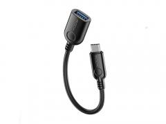 مبدل تایپ سی به یو اس بی 3.0 11 سانتی متری راک ROCK Type-C to USB 3.0 Adapter دارای کیفیت ساخت بالا