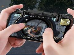 دسته بازی موبایل راک Rock Retractable Shooting Game Controller
