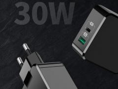 شارژر دیواری 30 وات دو پورت مک دودو MCDODO Dual Quick Charge 30W CH-692 بسیار قدرتمند