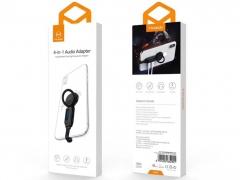 مبدل 4 در 1 لایتنینگ به لایتنینگ و خروجی صدا مک دودو MCDODO 4 in 1 Audio Adapter iPhone CA-629