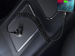 کابل شارژ و انتقال دیتا 1.8متری لایتنینگ مک دودو MCDODO Data Coiled Cable Lightning 1.8M CA-641 بسیار کاربردی