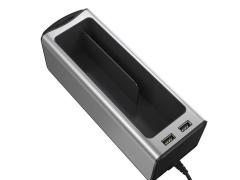 جعبه نظم دهنده داخل خودرو بیسوس Baseus Deluxe Metal Armrest Console Organizer