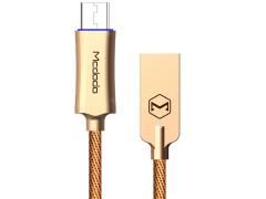 کابل شارژ سریع و هوشمند میکرو یو اس بی 1 متری مک دودو MCDODO Auto Power Off MicroUSB 1m CA-289