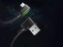 کابل شارژ سریع و انتقال داده تایپ سی مک دودو Mcdodo CA-752 90Type-C Cable 1.2M